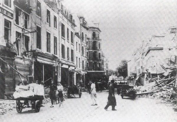 Bombardement Namur 1944