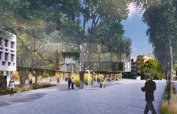 Centre commercial Namur