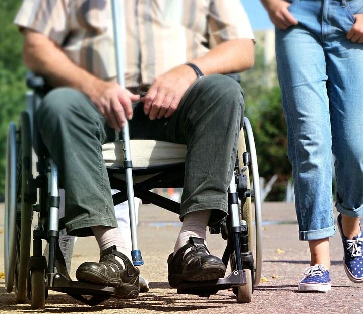 Illustration 'Je suis en situtation de handicap'