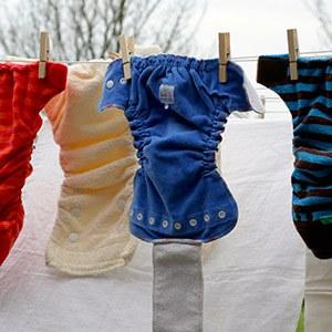 Les primes à l'achat de langes lavables