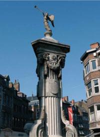 La pompe de l\'Ange — Ville de Namur