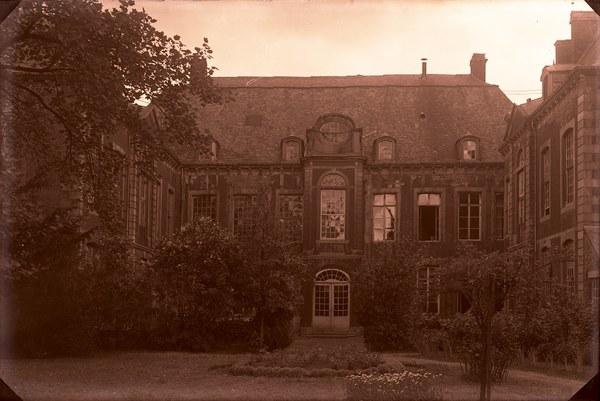 Façade arrière du musée vers 1930