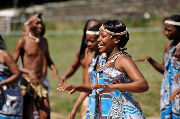 Groupe Folklorique du Botswana - Festival de Folklore Jambes - Namur