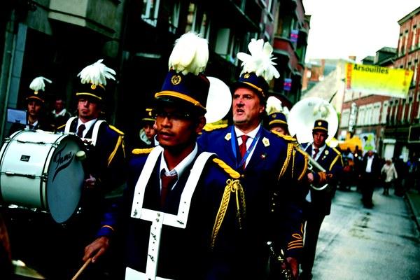 groupe folklorique - fête de wallonie
