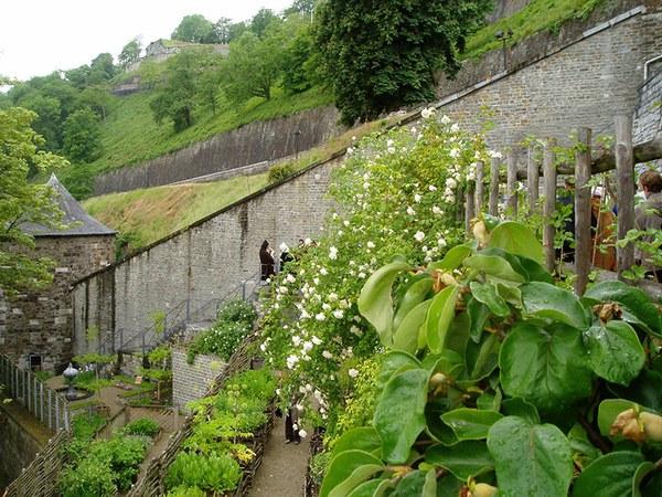 Jardin des deux tours - Citadelle de Namur