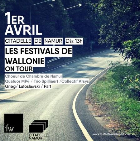 Les Festivals de Wallonie en tournée