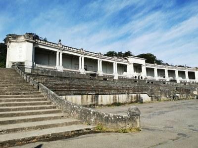 Stade des jeux –Le stade des jeux avant rénovation (prévue pour 2022)