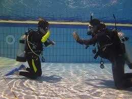 Plongée et sports d'équipe