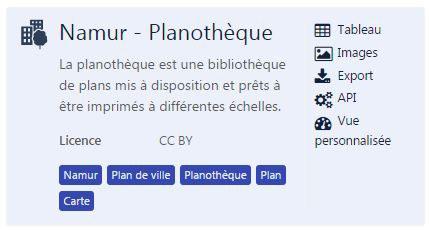 Planothèque - Jeu
