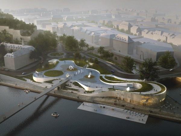 Projet vue Confluence Namur