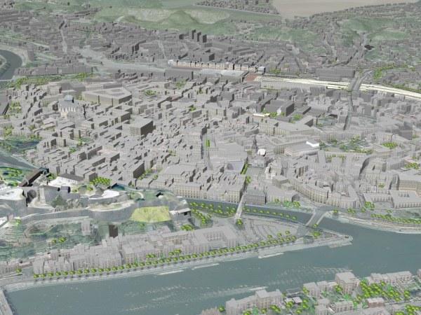 Namur modélisation 3D