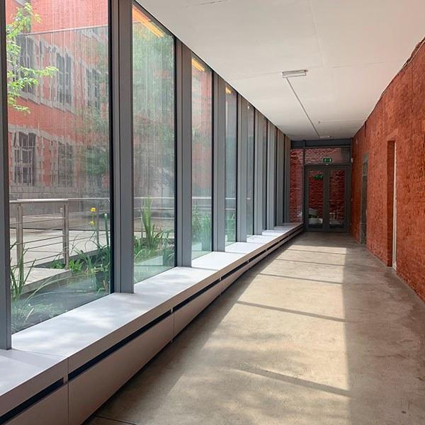 Photographie de l'intérieur de l'Académie