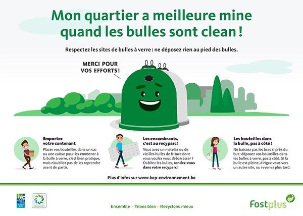 campagne bulles à verre