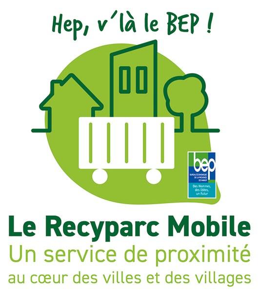 Logo recyparc mobile