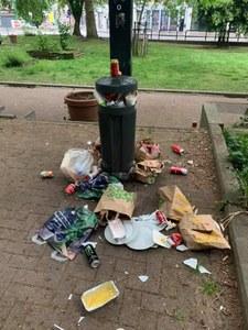 Déchets ménagers dans les poubelles communales ? Vous risquez une amende de 125€ !