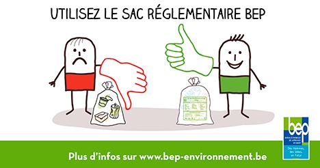 Sacs biodégradabes réglementaires