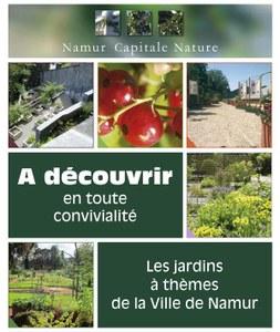 Les jardins à thèmes de Namur ouvrent leurs portes dès le 1 juin!