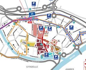 Plan de Mobilité Namur en Fête