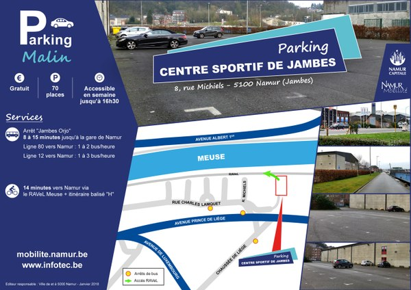 Parking Malin - Centre sportif Basse-Enhaive