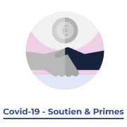 Picto 'Covid-19 - Soutien et primes'